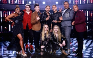 The Voice SA Top 8 Talents